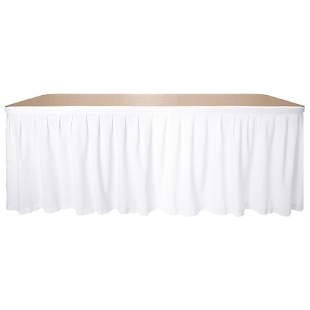 Linen Table Skirt Suit 2.4m Table
